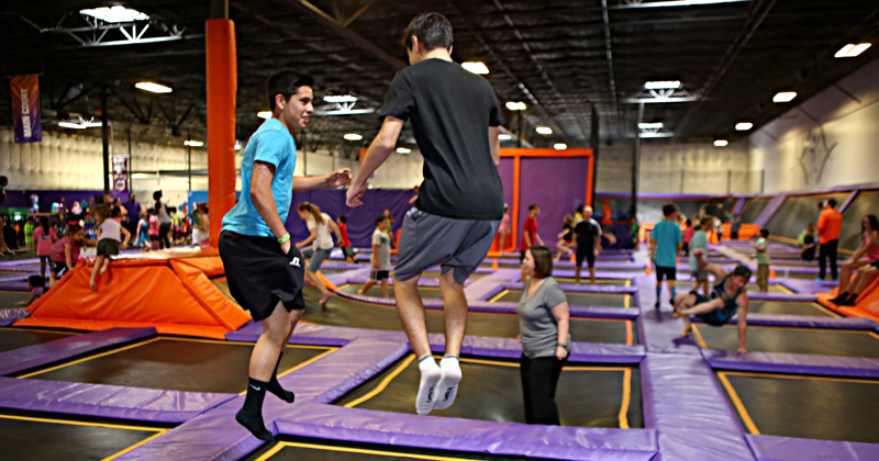 Trampoline Teen Night every Saturday in Ft Worth, TX